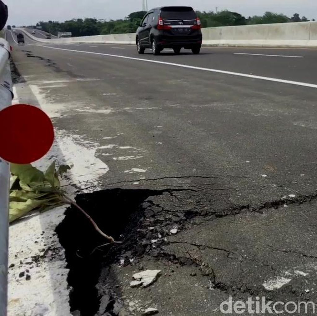 Perbaikan Retakan Tol Pemalang-Batang Ditargetkan Selesai Besok
