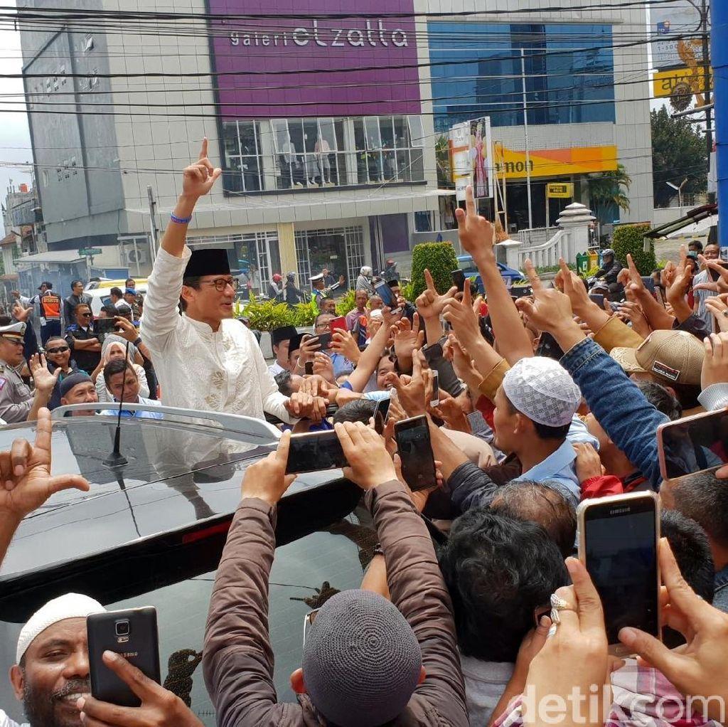 Sate dan Harapan Sandiaga Dapat Rejeki Jokowi