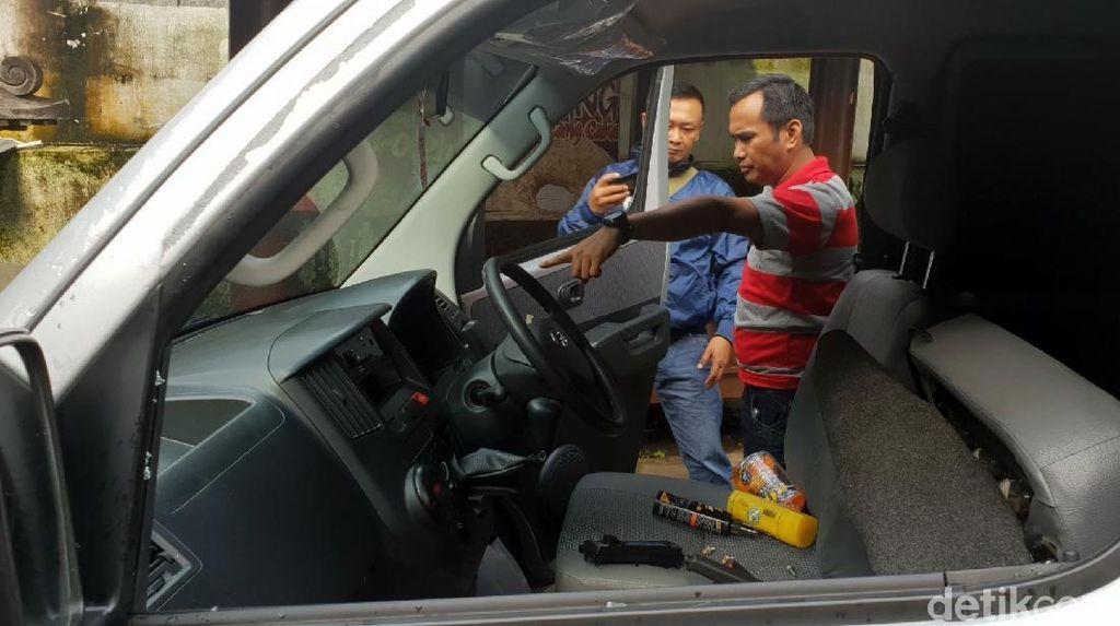 Lagi, Pencuri Modus Pecah Kaca Beraksi di Sukabumi AC Mobil Lenyap
