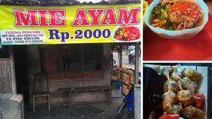 5 Kisah Viral Mie Ayam, Ada yang Makan Saat Banjir hingga Mie Ayam Rp 2.000