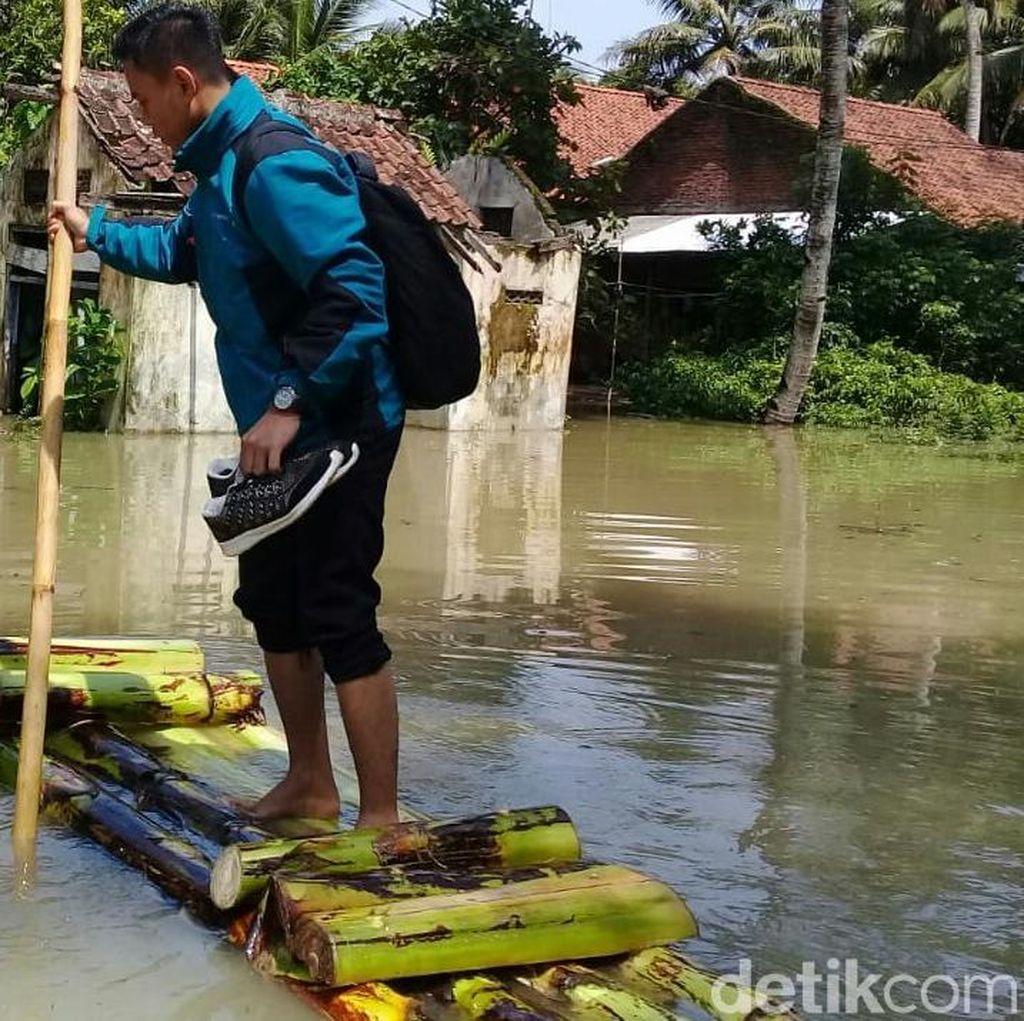 Banjir di Purworejo Selatan Semakin Naik, Timur dan Utara Surut