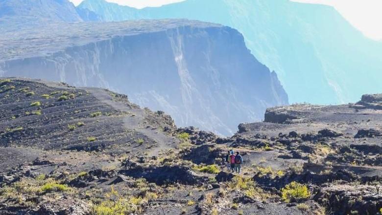 Ilustrasi Gunung Tambora (Pradikta Kusuma/dTraveler)