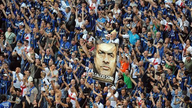 Jose Mourinho masih mendapat tempat istimewa di hati pendukung Inter Milan.