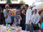 Tiba di Garut, Jokowi Bertemu Ibu-ibu Mekaar Pegiat UMKM