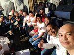 Meriahnya Nobar Debat Capres di Kubu Jokowi dan Prabowo
