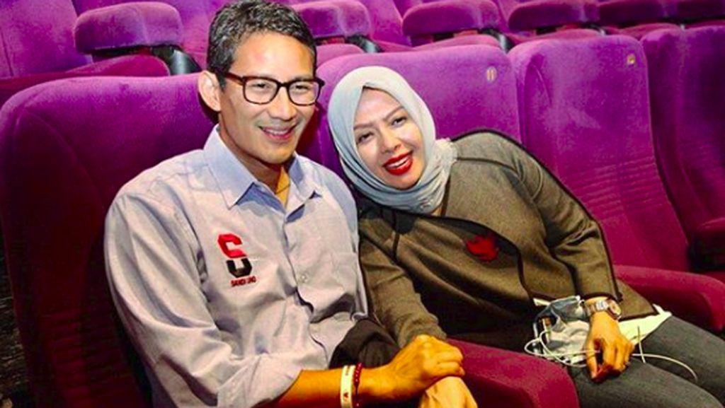 Romantis, Potret Nur Asia Saat Dampingi Sandiaga Uno
