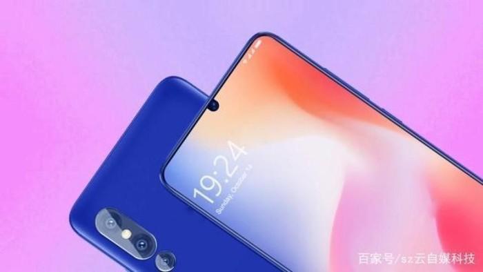Render Xiaomi Mi 9 yang akan dirilis pada tanggal yang sama dengan Galaxy S10. (Foto: GSM Arena)