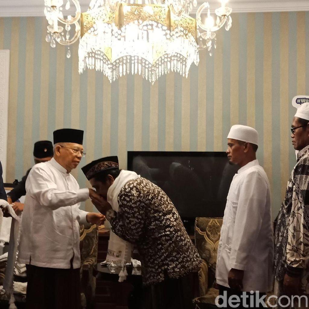 Dapat Dukungan Kiai Madura, Maruf Harap Elektabilitas Naik
