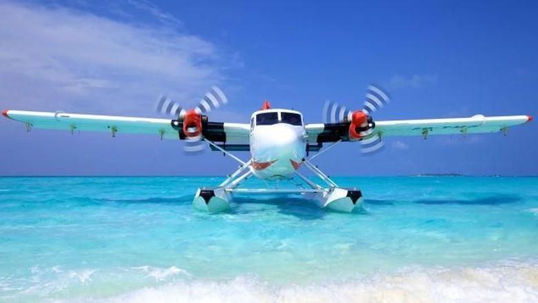 Pesawat Amfibi di Maldives