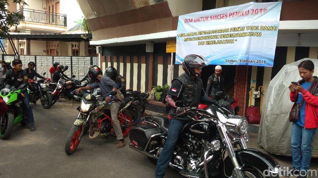 Asy Syahadatain Cirebon Kampanye Pemilu Damai Melalui Tur Ibadah