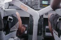 Pilot yang nyeker saat menerbangkan pesawat amfibi (CNN Travel)