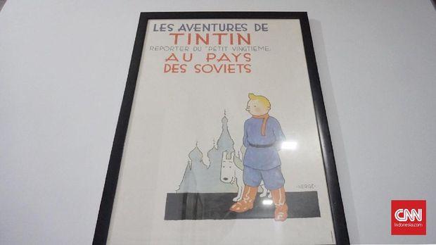Tintin Bawa Karina 'Haji' ke Belgia **