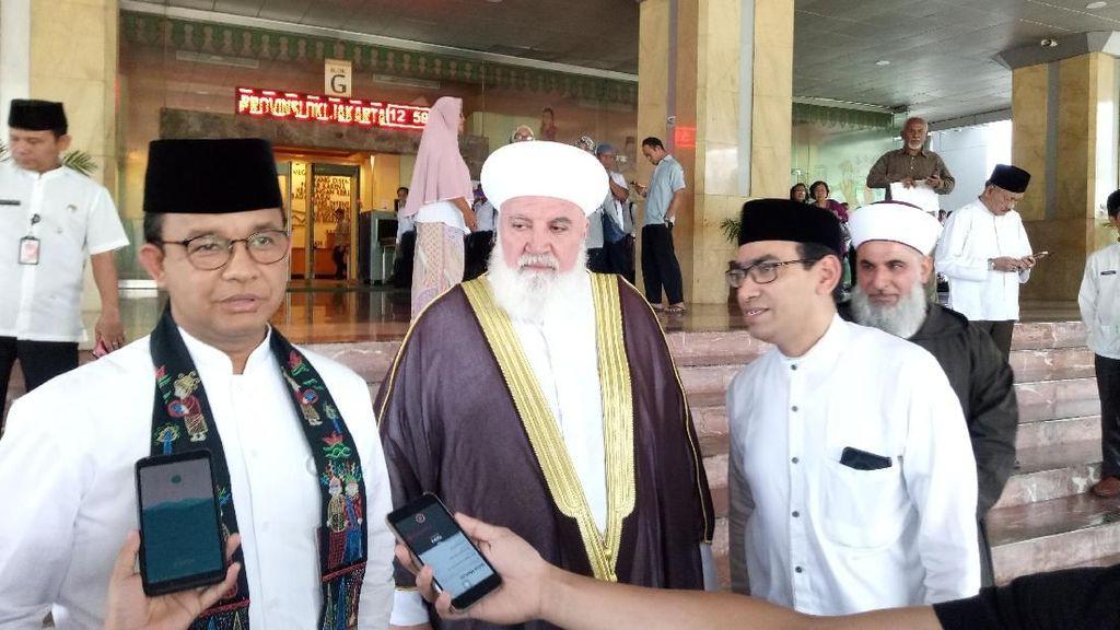 Jamu Mufti dari Damaskus, Anies Janjikan Kerja Sama Pendidikan