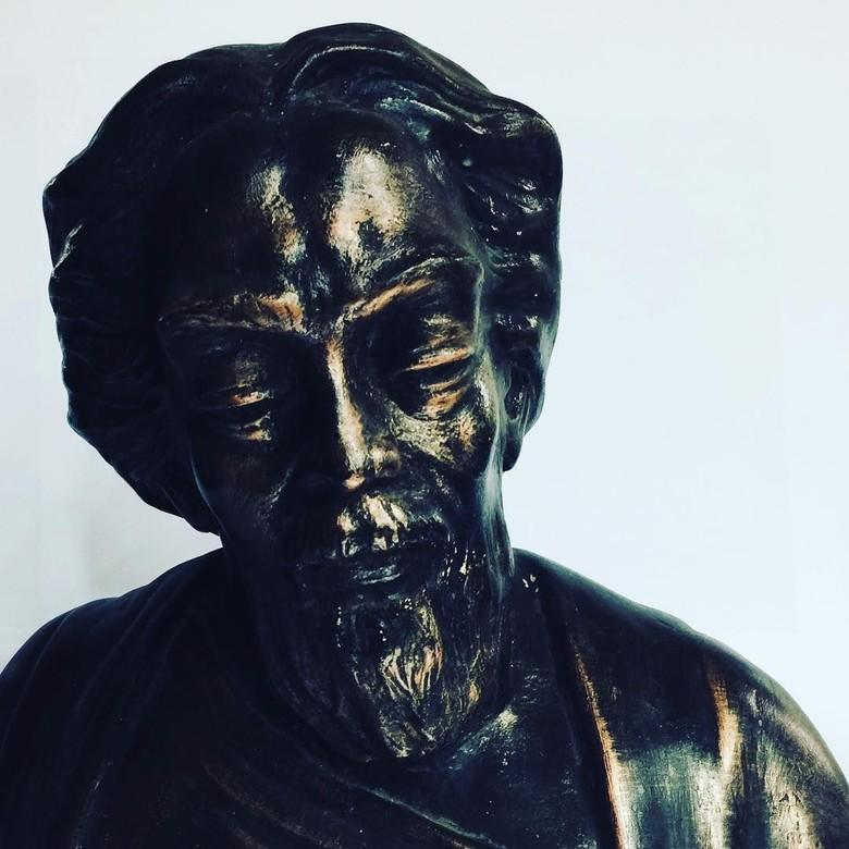 Patung Nyoman Nuarta di Tapanuli Tengah yang Dijarah Habiskan Dana Rp 19 M