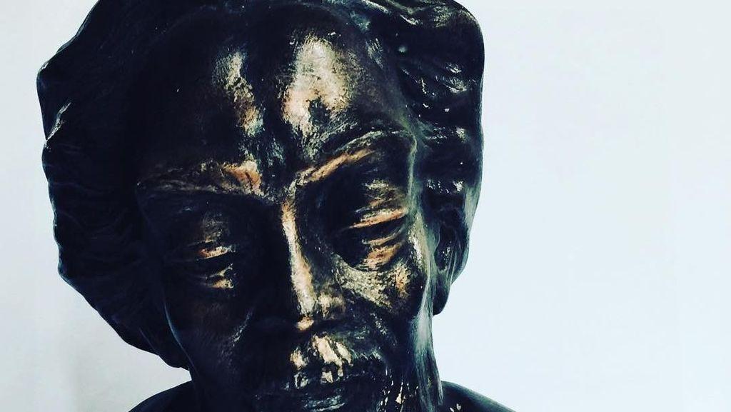 Miris! Patung Karya Nyoman Nuarta di Tapanuli Tengah Dijarah