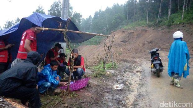 Longsor di Banjarnegara.