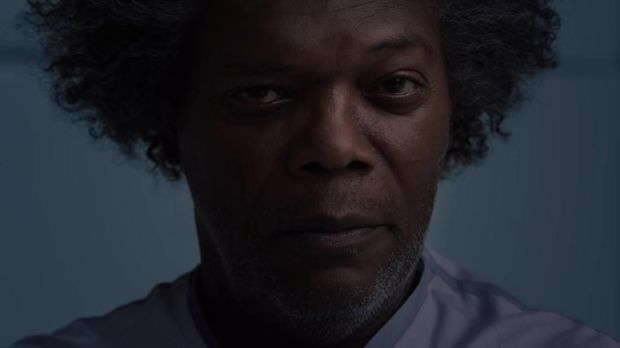 Samuel L. Jackson yang memerankan Elijah Price alias Mr. Glass.