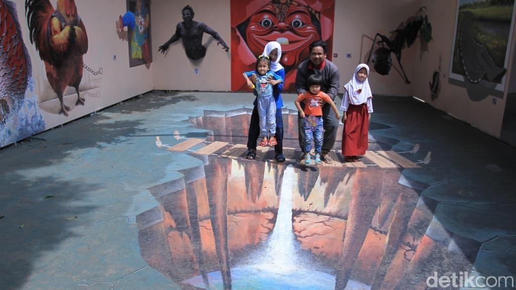 Yang Lagi Hits di Bandung: Wisata Mini 3D Art Jelekong