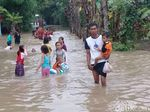 Belasan Desa di Pasuruan Terendam, Warga Harap Bantuan Makanan