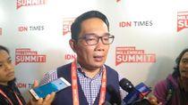 Ridwan Kamil Minta Milenial Tak Golput saat Pilpres 2019