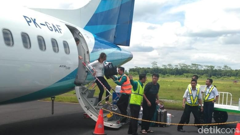 Penumpang Bandara Jember Menurun Garuda Kurangi Frekuensi