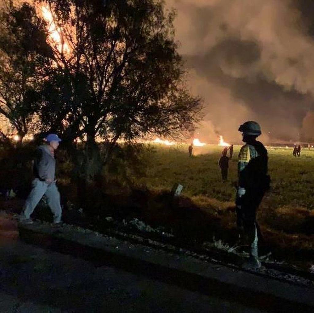 66 orang Tewas Terpanggang Akibat Ledakan Pipa di Meksiko