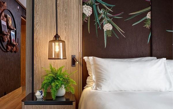Di dalam kamar, traveler akan menemukan kasur yang terbuat dari bahan ramah lingkungan dan bukan bulu (Hilton London Bankside)