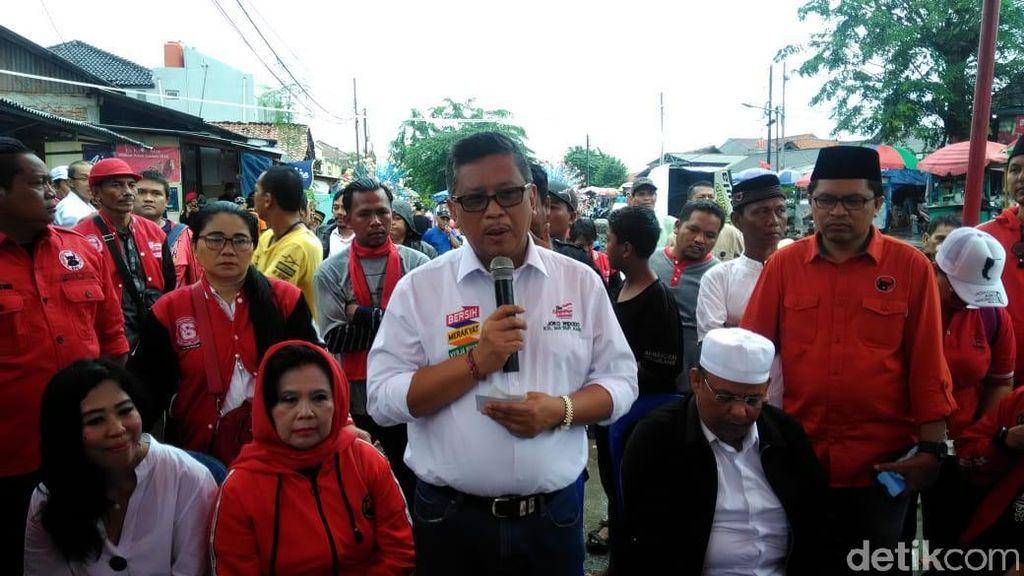 Datangi Pasar Santa, TKN Jokowi: Orang Muda Berkreasi, Berinovasi