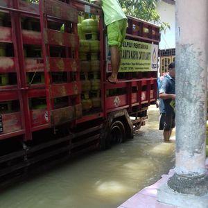 Pertamina Pastikan Pasokan BBM dan LPG di Kebumen Cukup Pasca Banjir