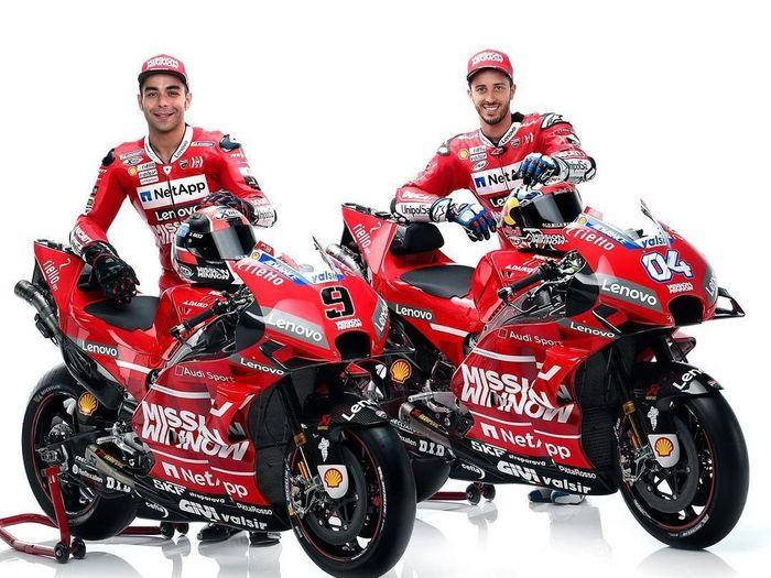 Tampilan Desmosedici GP19. (Foto: dok. Ducati Corse)