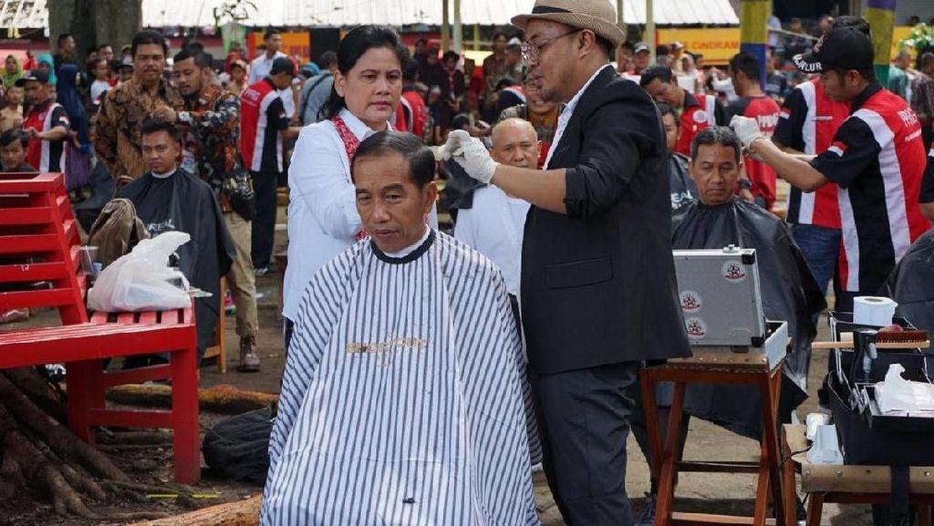 Quality Time Simpel Jokowi dan Iriana yang Bikin Baper