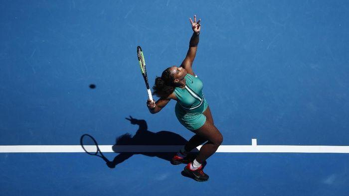 Serena Williams melaju ke babak 16 besar Australia Terbuka 2019 (Foto: Edgar Su/Reuters)