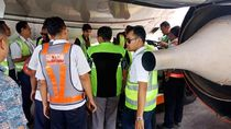 Updated! Mobil Penarik Bagasi Tabrak Roda Pesawat Lion Air