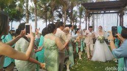 Randy Pangalila Sempat Cemas Pernikahannya Diguyur Hujan