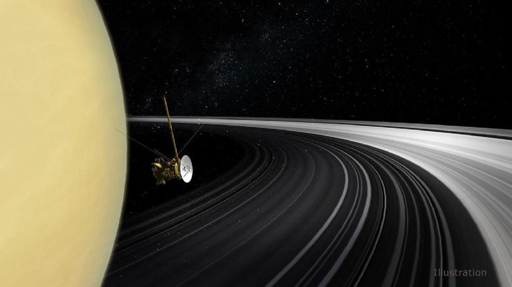Cincin Saturnus Ternyata Masih Sangat Muda