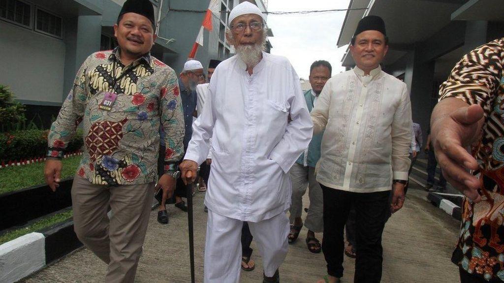 TPM Ungkap Alasan Ba'asyir Tolak Dokumen Bebas Bersyarat juga Ikrar NKRI