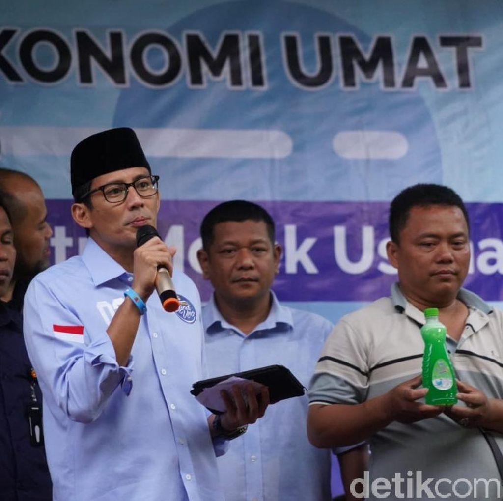 Minta Santri Melek Usaha, Sandi: Sudah Saatnya Indonesia Jihad Ekonomi