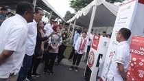 Ke Garut, Jokowi Tinjau Pertashop Pertamina yang Masuk Desa