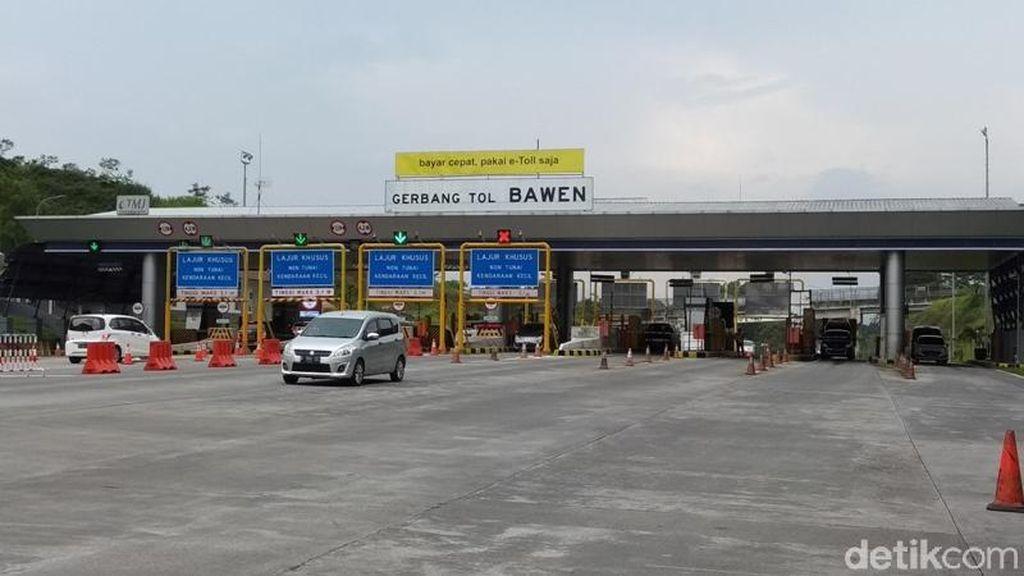 Akses dari Tol Trans Jawa ke Jalan Nasional Masih Kurang Memadai