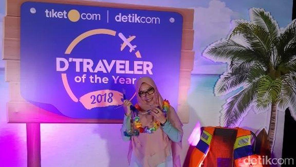 Emak-emak Inilah Juara dari dTraveler of The Year 2018