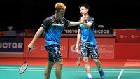 Kevin/Marcus Juga Lolos ke Final Malaysia Masters