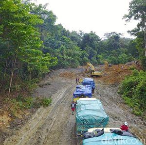 Curah Hujan Tinggi, Jalan Trans Papua Jayapura-Wamena Rusak Berat
