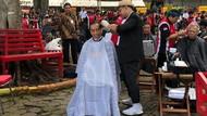 Ternyata Ada Kaesang di Balik Tukang Cukur Rambut Jokowi