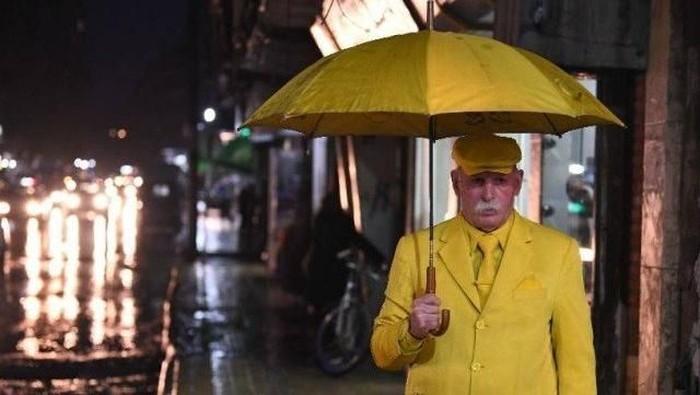 Yellowman from Aleppo. Foto: Dok. Xinhua