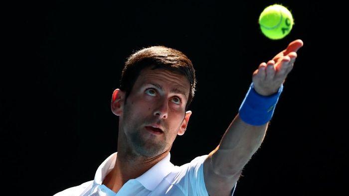 Novak Djokovic melangkah ke babak 16 besar Australia Terbuka 2019 (Foto: Michael Dodge/Getty Images)