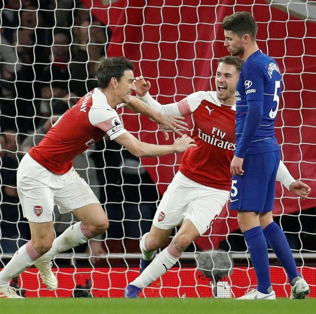 Hasil Arsenal Vs Chelsea: The Gunners Menang 2-0