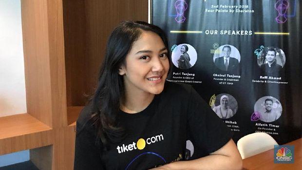 Putri Tanjung & Gita Wirjawan Berbagi Ilmu Bisnis, Mau Tahu?