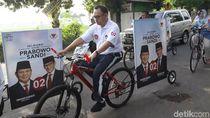 Kampretos di Brebes, Kenalkan Prabowo-Sandi dengan Bersepeda