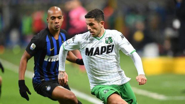 Gagal Menang atas Sassuolo, Inter Dibuntuti AS Roma