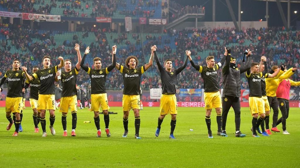 Dortmund Taklukkan Leipzig 1-0
